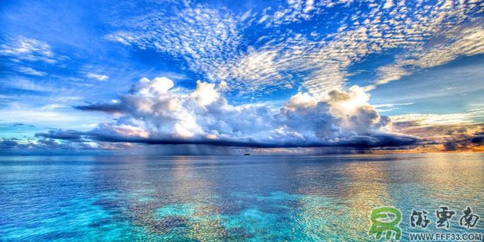 马尔代夫海景风光
