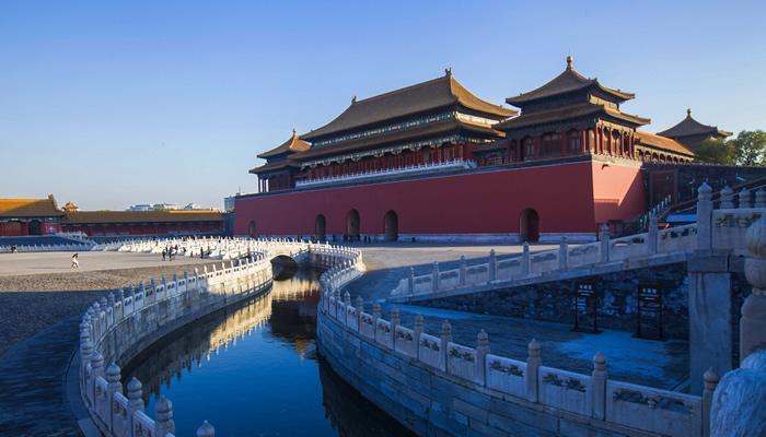 北京故宫景色